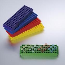 CRYO pudełko z PC (poliweglanowe) na krioprobówki i probówki Eppendorf 81x1.5ml/2.0ml, BIOLOGIX, 20 szt