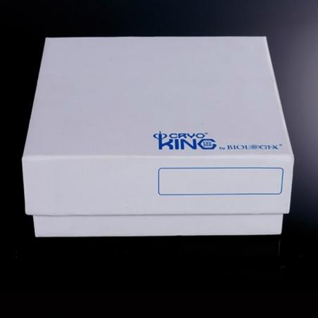 Kartonowe CRYO pudełko 81-miejscowe Plasti-Coat, 130mmx130mmx76mm, 1szt